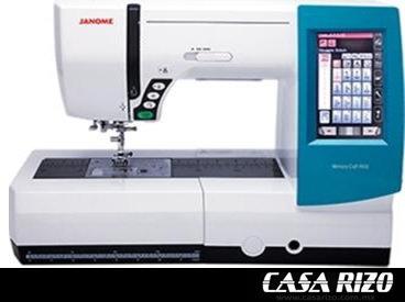 Máquina de coser y Bordadora Janome Mc9900