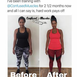 Makeup Shayla - 10 Week Transformation
