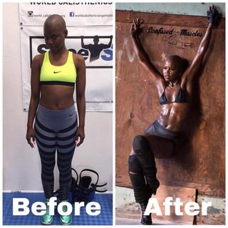 V. Bozeman - 4 Week Transformation