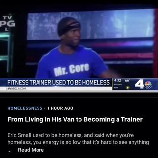 Homeless Interview on NBC news