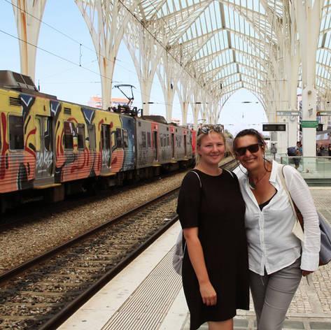 with Lena, Vienna, Austria