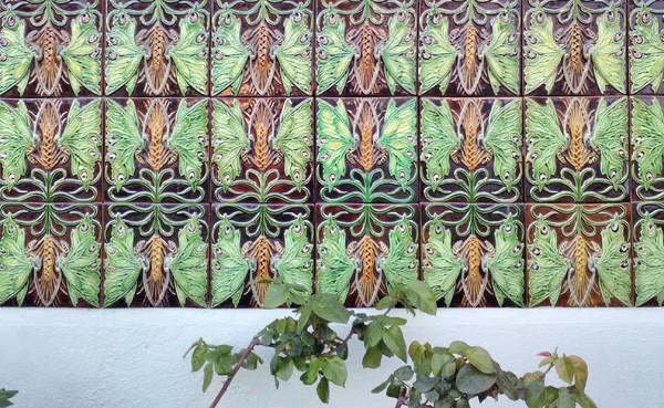 tiles lisbon, bordalo pinheiro