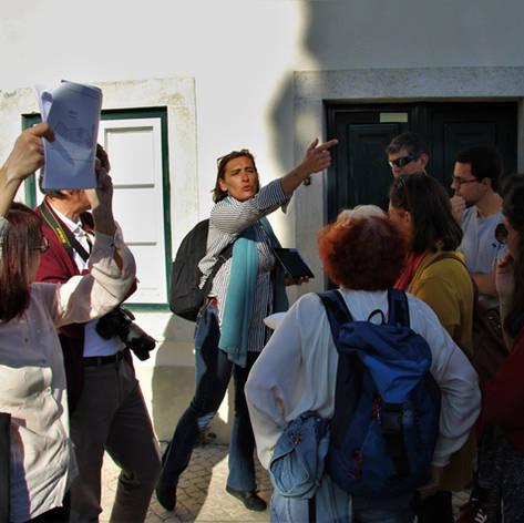 """Open Walk """"Lisboa, da Real Fábrica das Sedas ao Bloco das Águas Livres"""""""