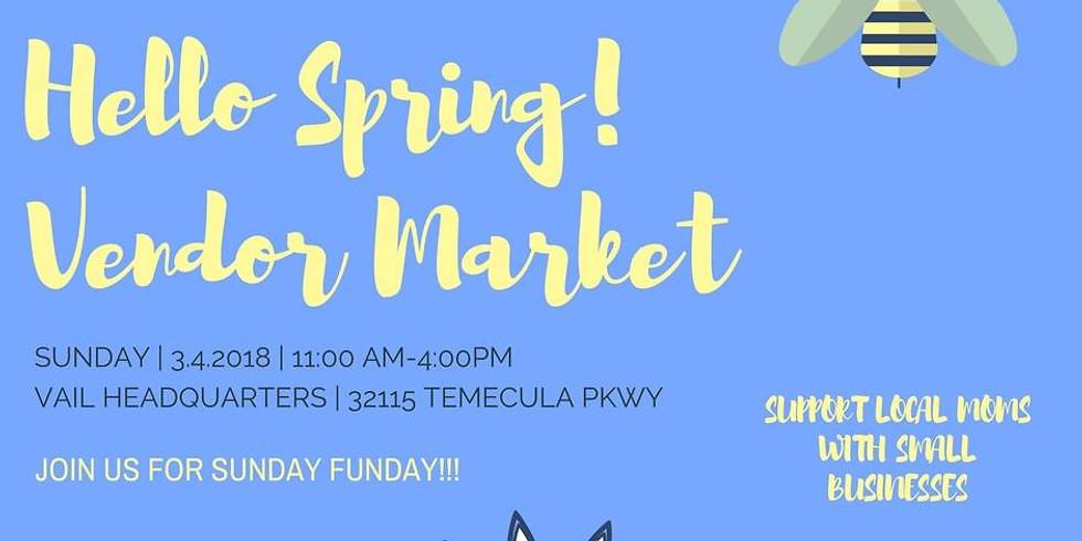 Hello Spring! Vendor Market