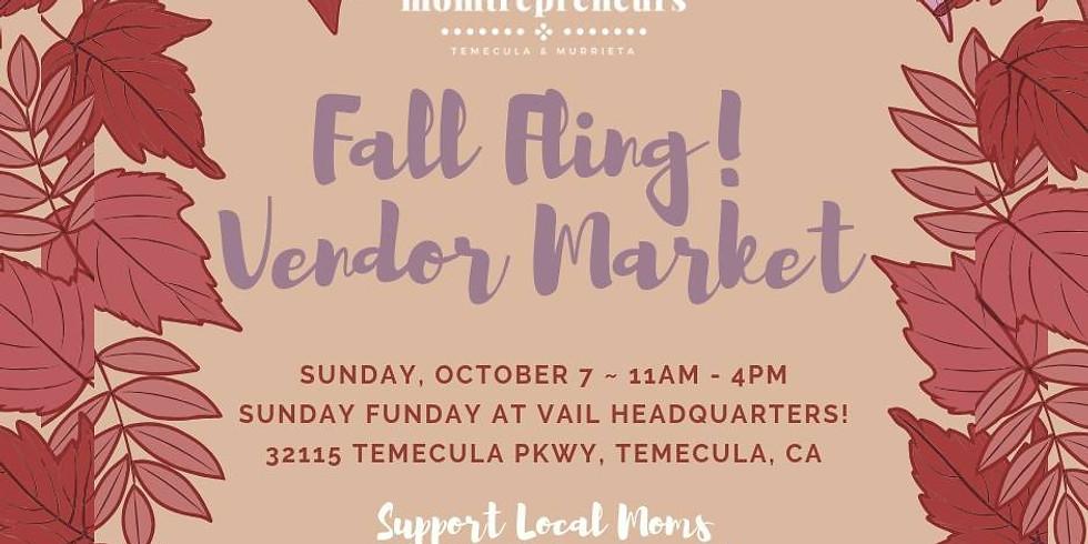 Fall Fling! Vendor Market