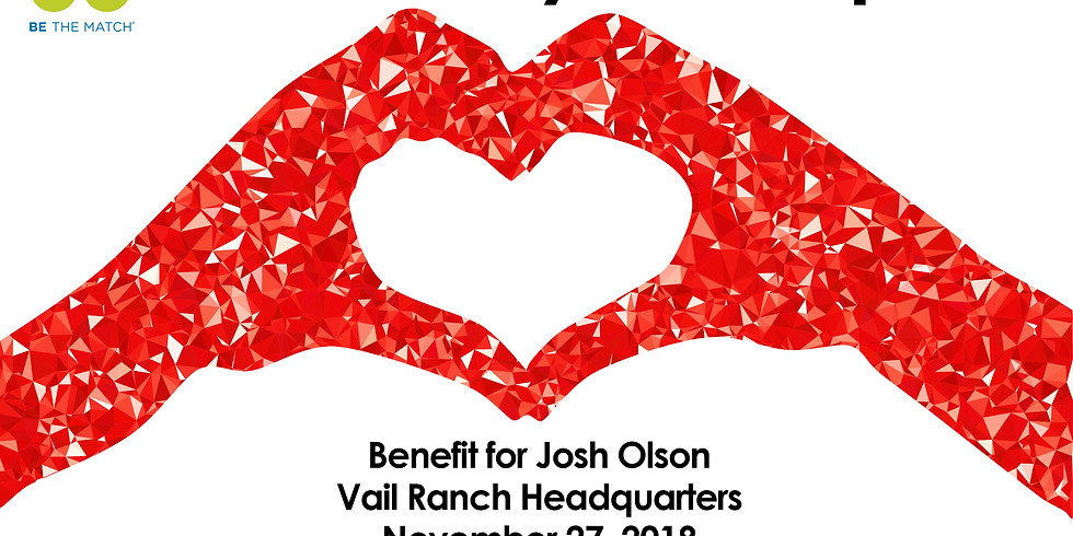 Be The Match benefit for Josh Olsen