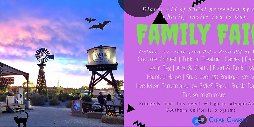 Family Faire by Clear Charity | Halloween Fun