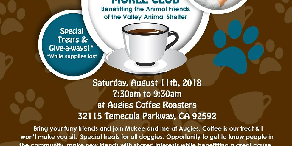 Friends of Mukee Coffee Club and fundraiser at Augie's