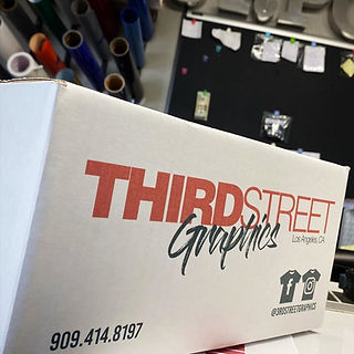 Third Street Graphics specializes in custom printed apparel, indoor & outdoor graphics, printing and graphic design.