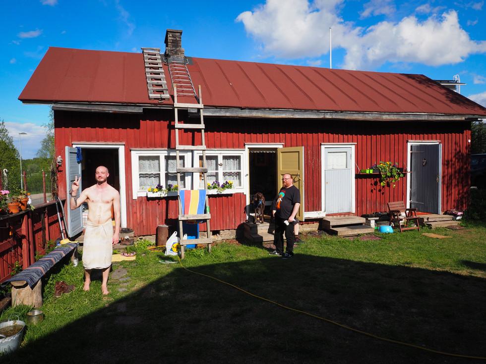 Sauna, Sodankylä