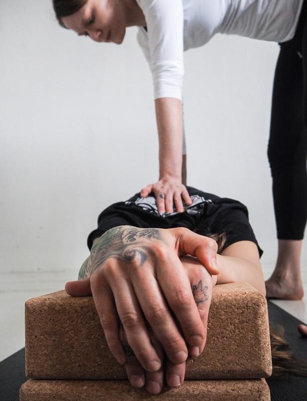 My motivation to teach yoga