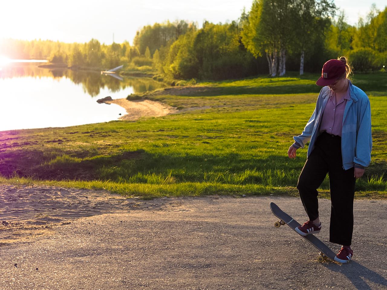 The Skater Girl