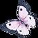 Acuarela de la mariposa 5