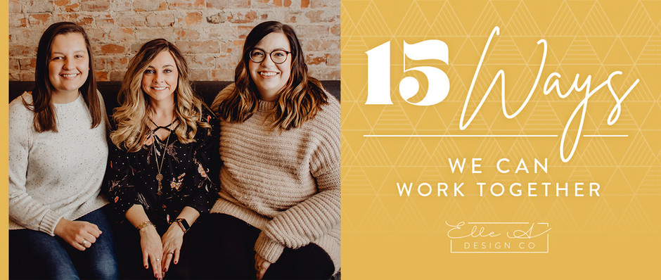 15 Ways We Can Work Together