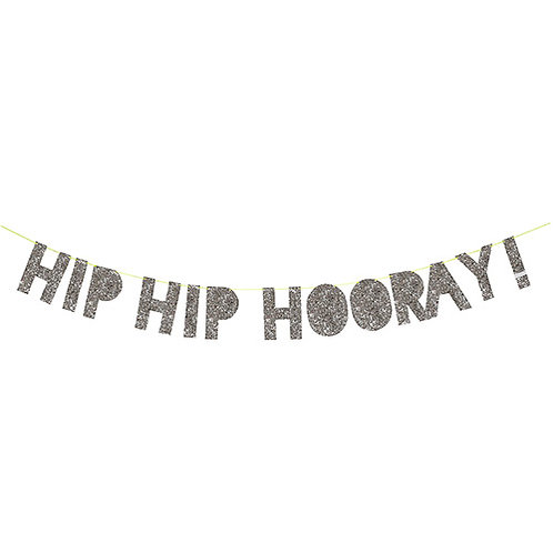 hip hip hooray! banner