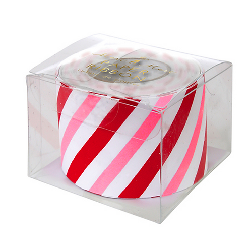 candy stripe paper ribbon