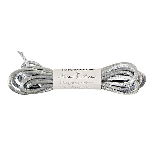 bunting cord // silver