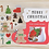 Thumbnail: merry christmas flake stickers // gingerbread stocking