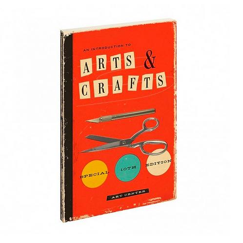vintage inspired notebook // arts + crafts