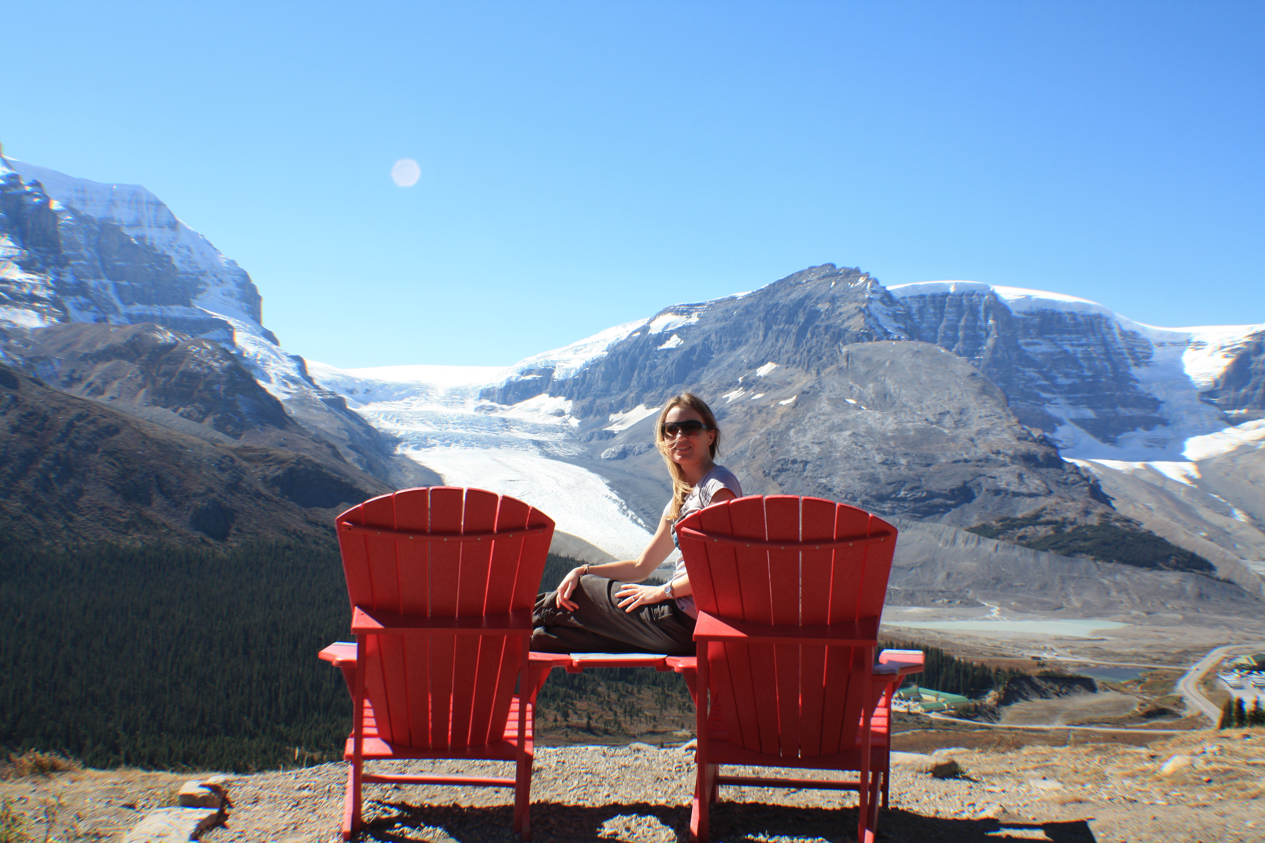 Canadian chairs with a view