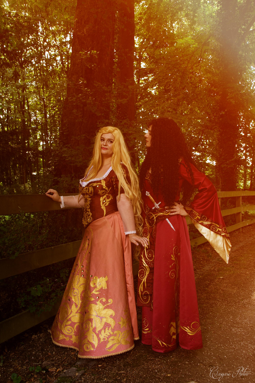 Raiponce et Mère Gothel