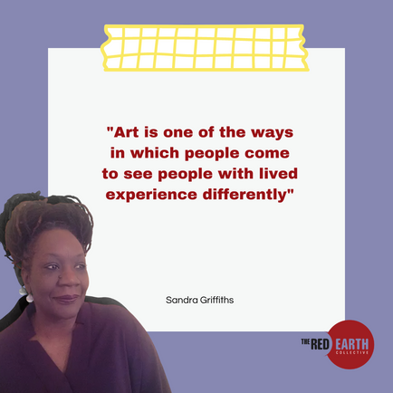 Art is one of the ways in which people come to see people with lived experience differently