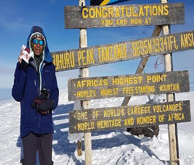 Kilimanjaro Climb an act of Faith