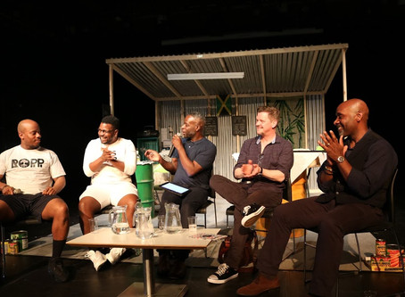 The 'strong black man' stereotype challenged in sold-out show