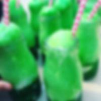 Edible polyjuice potion. Icecream, green