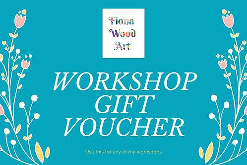 Gift Voucher Workshop - Inky Fun