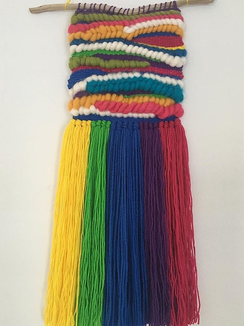 Rainbow weaving
