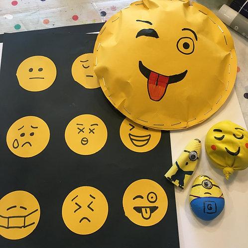 Minions and Emoji's Art Kit