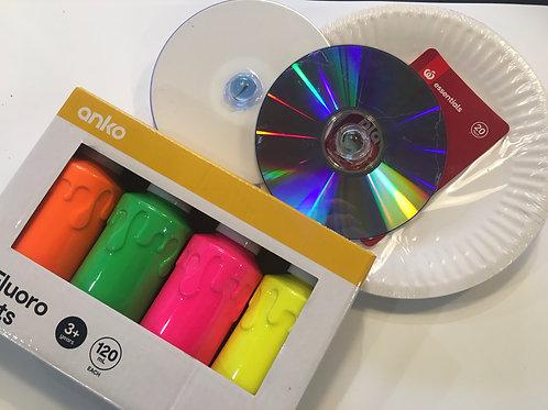 Spin Art Kit