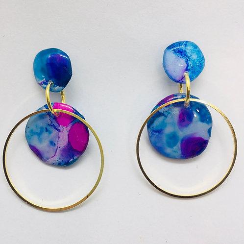 Inky Earrings