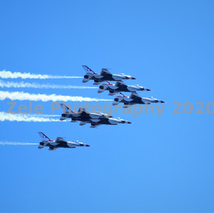 US Air Force Thunderbirds - April 28, 2020