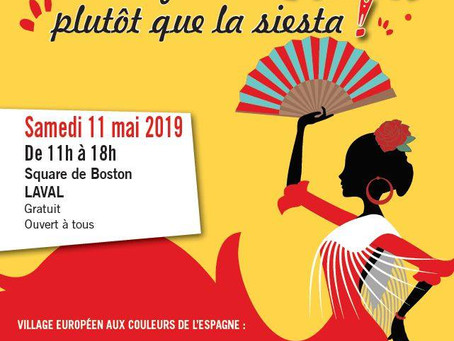 Baile flamenco à la fête de l'Europe