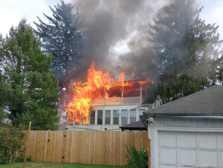 1st Due House Fire