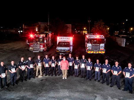 Firefighters Recognized for Rescue