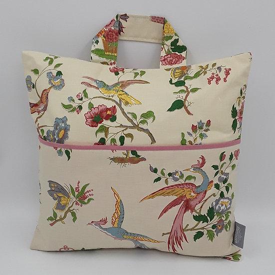 Book bag cushion cover - Bird of Paradise