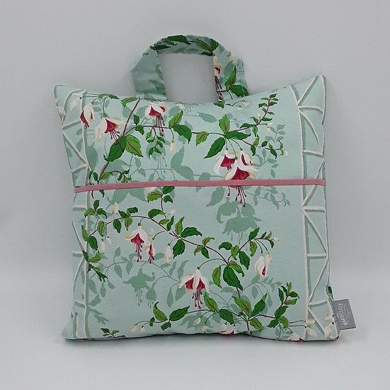 Book bag cushion cover - Fuschia