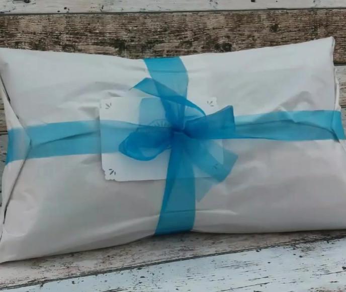 Video of wedding cushion