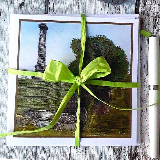 Pack of 4 Greetings Cards - Landmarks