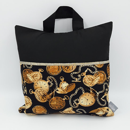 Book bag cushion cover - Time pieces