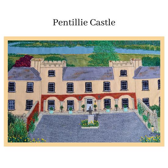 Pentillie Castle Greetings Card