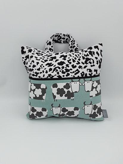 Book bag cushion cover - Cows