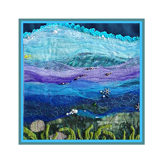 Seascape Greetings Card
