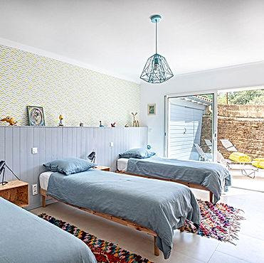 posto nove, dormitory, family bedroom, kid friendly, gite, vacation rental, kid's bedroom, south of france