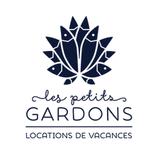 Logo, les Petits Gardons, lotus, poissons, locations de vacances, gard, gîte, occitane