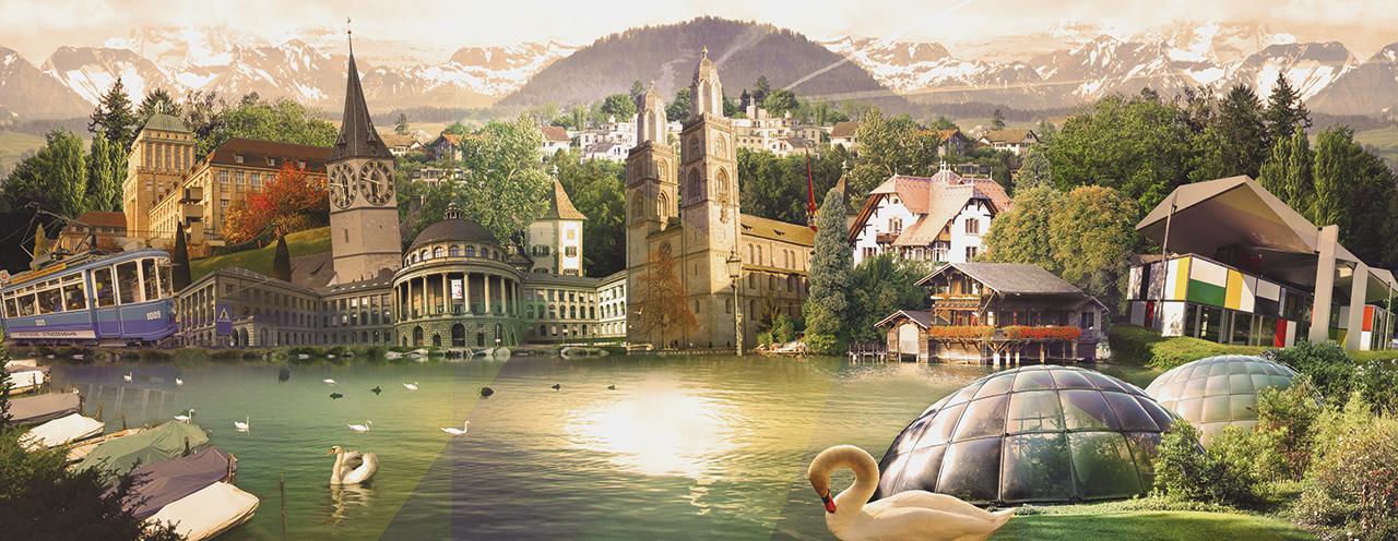 Zurich pour TGV Lyria