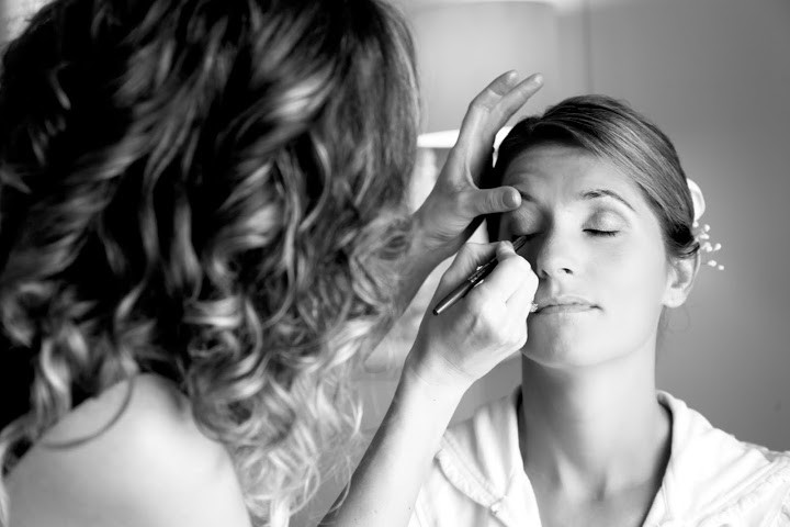 Hair & Makeup by Sara K. | Julie, Cove Point, MD wedding